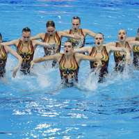 image: Swimming: Synchronised s…