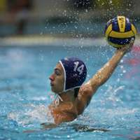 image: Men's water polo begins …
