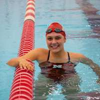 image: Swimmer Madison Coughlen…