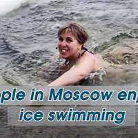 image: People in Moscow Enjoy I…