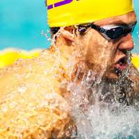 image: LSU men's swimming compe…
