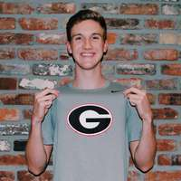 image: UGA Junior Keegan Walsh …