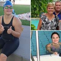 image: Down syndrome swimmer, 3…