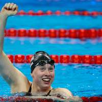 image: Lilly King joined in swi…