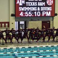 image: Texas A&M men's swim and…