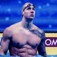 image: Dressel, Lochte Each in …