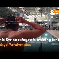 image: Syrian refugee trains fo…