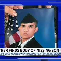image: Body of Airman Who Went …