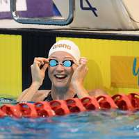 image: Cate Campbell Among Firs…