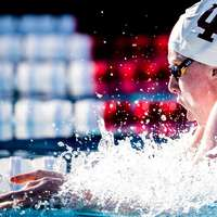 image: Lilly King on Going 1:05…