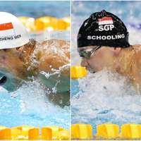 image: Swimming: Quah wins 200m…