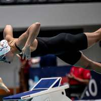 image: Kate Douglass Swims 50 F…