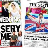 image: Scotland's papers: Swimm…